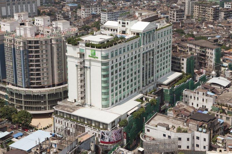 Holiday Inn Shifu Guangzhou Vista exterior