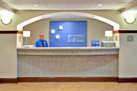 Holiday Inn Express & Suites GREENWOOD - Hotel Lobby