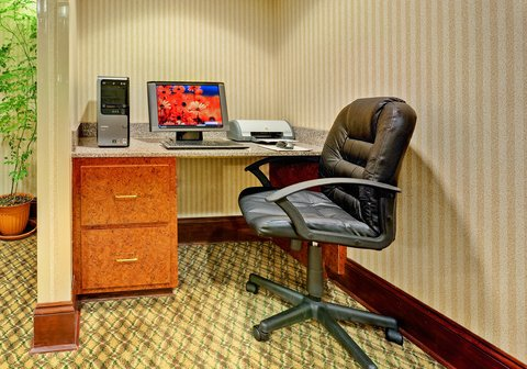 Holiday Inn Express & Suites GREENWOOD - Business Center