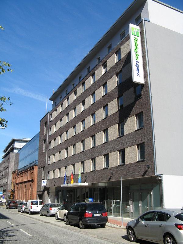 Hotel Holiday Inn Express Hamburg Sankt Pauli Messe Fachada do hotel