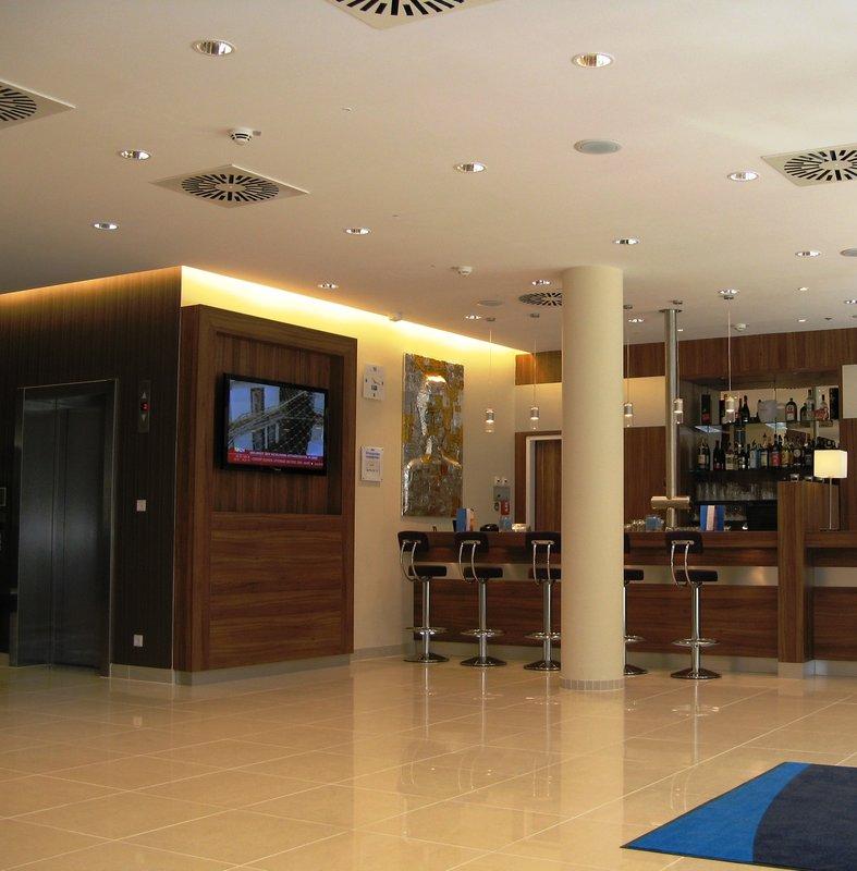 Holiday Inn Express Hamburg Sankt Pauli Messe Bar/lounge