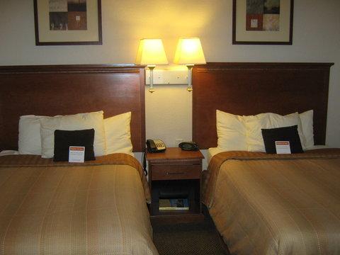 Candlewood Suites Hattiesburg Hotel - Double Bed Guest Room