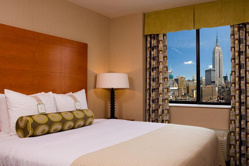 Holiday Inn NYC - Manhatten 6th Ave Вид в номере