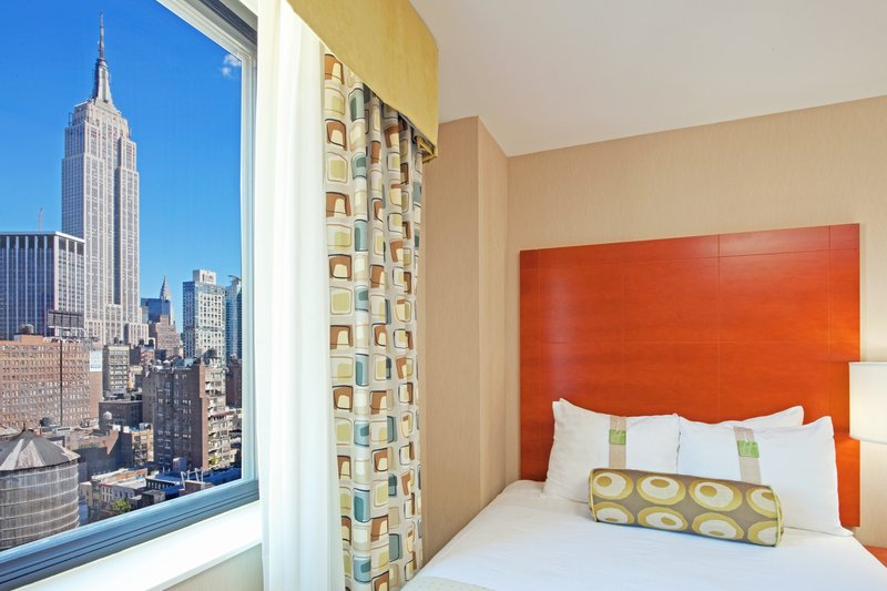 Holiday Inn NYC - Manhatten 6th Ave Вид в номере