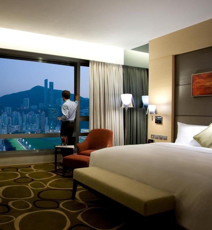 Crowne Plaza Hong Kong Causeway Bay Zimmeransicht
