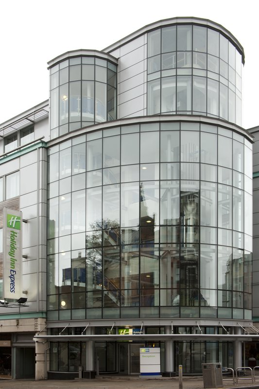 Holiday Inn Express Nottingham City Centre Pohled zvenku