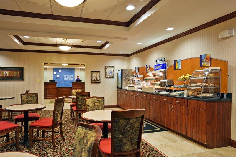 Holiday Inn Express Hotel & Suites Harriman Ravintolat
