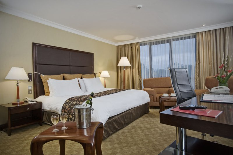 Crowne Plaza Hotel Nairobi View of room