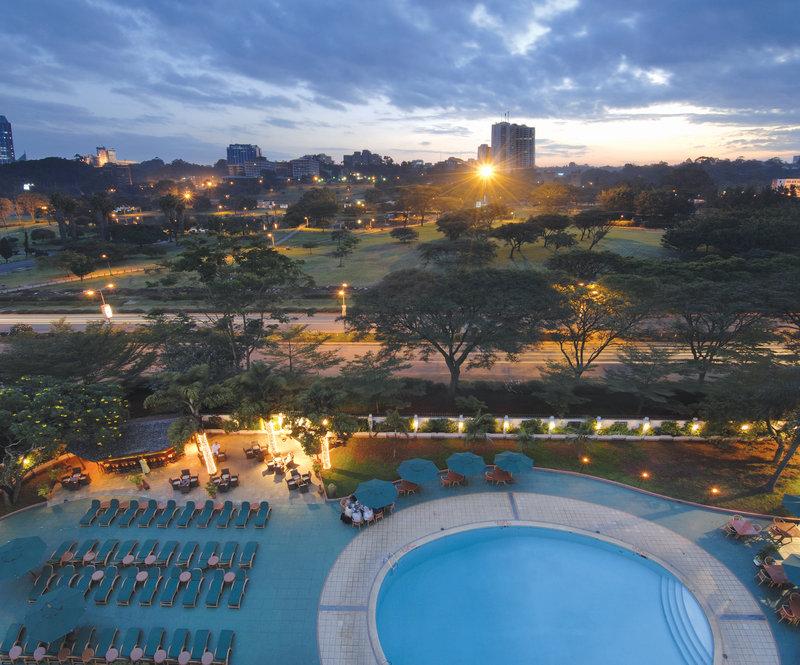 InterContinental Nairobi Piscina