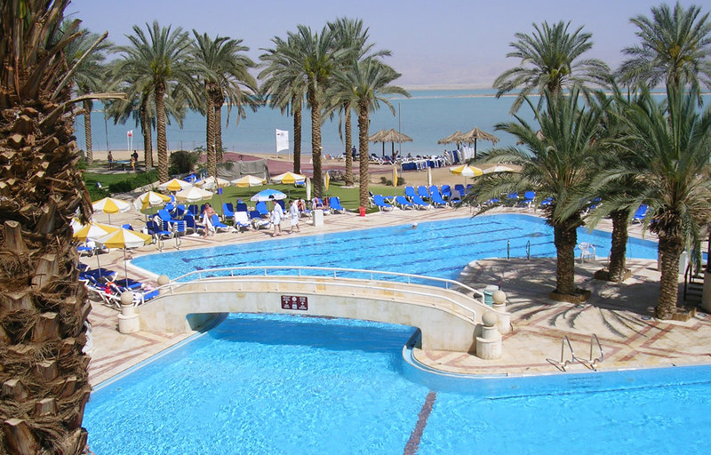 Crowne Plaza Hotel  DEAD SEA Bazén