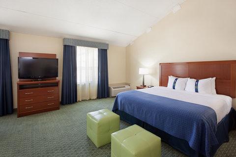 Holiday Inn Cape Cod Falmouth Hotel - King Executive Falmouth  MA Guest Room