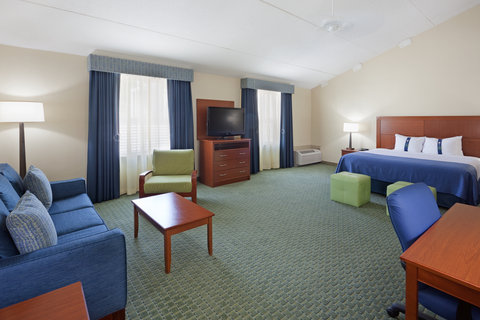Holiday Inn Cape Cod Falmouth Hotel - King Executive Room which is wheel chair accessible