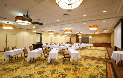 Holiday Inn Hotel & Suites DENVER AIRPORT - Meeting Room - Centennial and  Mile High set up classroom style
