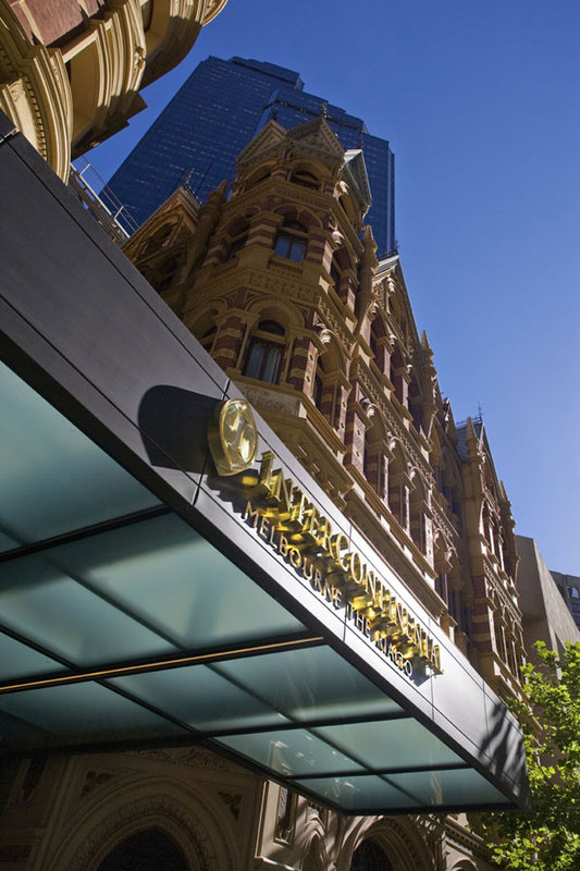 InterContinental Melbourne The Rialto Kilátás a szabadba
