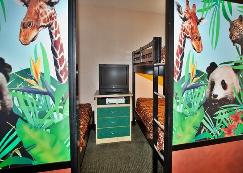 Holiday Inn Anaheim Resort - Themed KidsSuites with X-Box 360  bunk beds and DVD