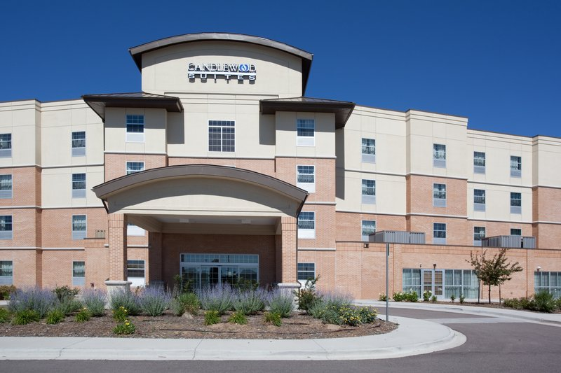 Candlewood Suites Meridian Business Center Widok z zewnątrz