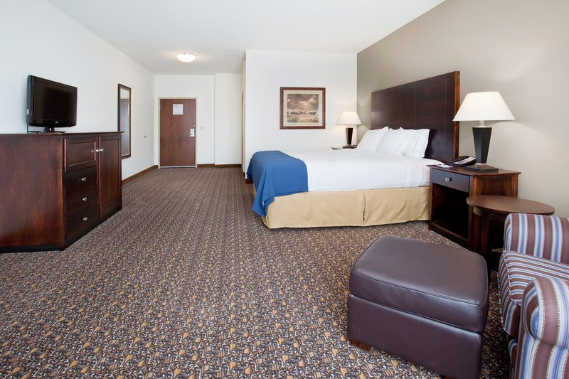 Holiday Inn Express Hotel & Suites Lander Vista della camera