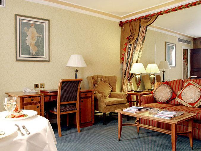 Holiday Inn London-Mayfair Szobakilátás