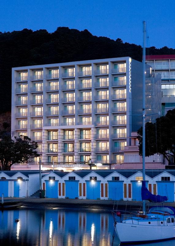 Copthorne Hotel Wellington Oriental Bay Вид снаружи