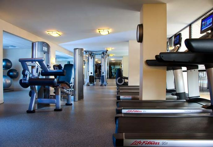 Marriott Houston West Loop By The Galleria Fitness-klub