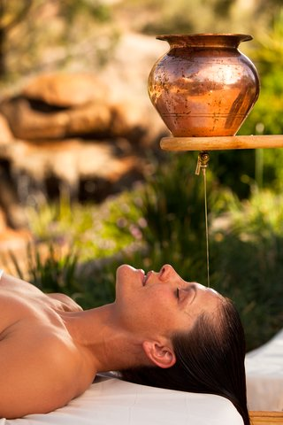 Boulders Resort & Golden Door Spa - Golden Door Ayurvedic treatment  Sams 07 10