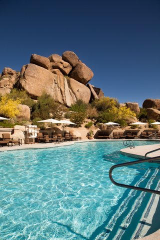 Boulders Resort & Golden Door Spa - Pool at The Lodge  0710