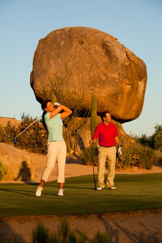 Boulders Resort & Golden Door Spa - Golf Rosies Rock  Sams 07 10