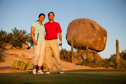 Boulders Resort & Golden Door Spa - Golf Rosies Rock - Sams - 07 10