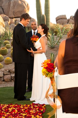 Boulders Resort & Golden Door Spa - Wedding Ceremony at Promise Rock - Sams - 07 10