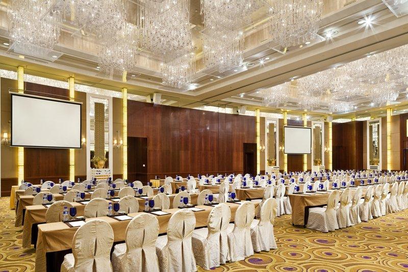 Crowne Plaza Hotel Fudan Shanghai Tagungsraum