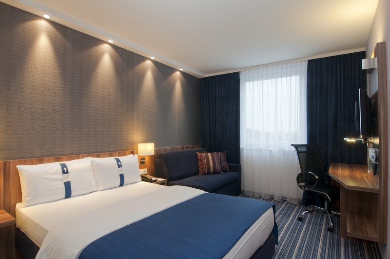 Holiday Inn Express Hamburg Sankt Pauli Messe Kameraanzicht
