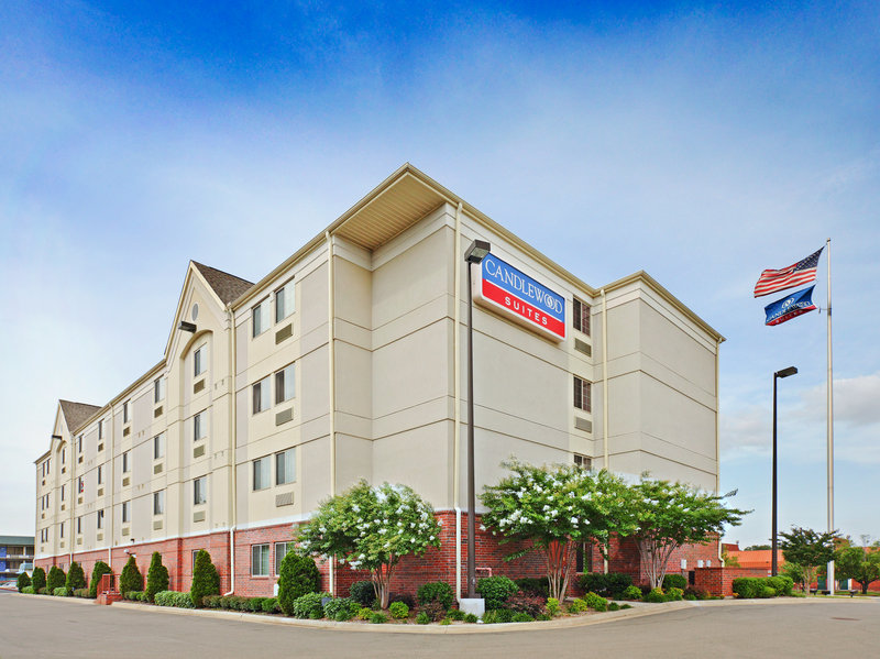 Candlewood Suites West Little Rock Außenansicht
