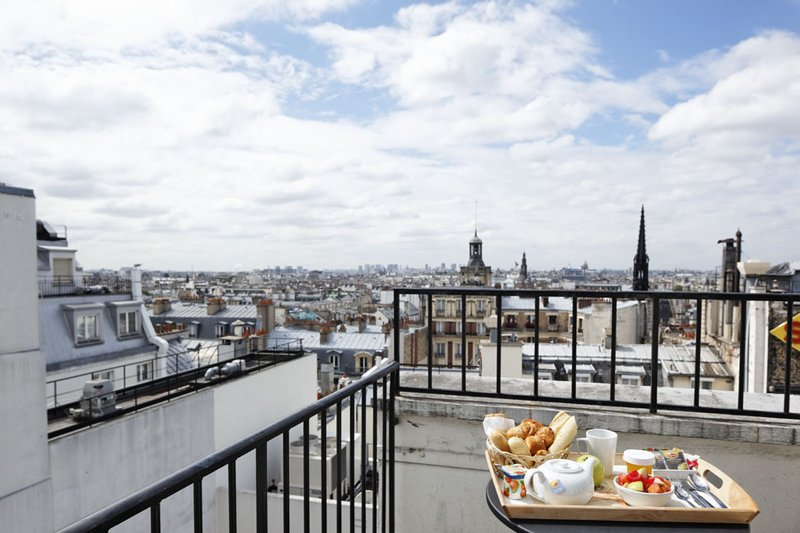 Holiday Inn Paris-Gare de L'est 客房视图