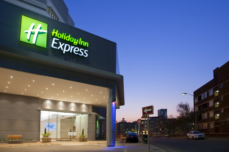 Holiday Inn Express Pretoria-Sunnypark Set udefra