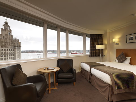 Thistle Liverpool City Centre - Atlantic Tower - Standard Twin Room