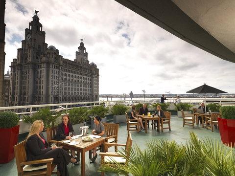 Thistle Liverpool City Centre - Atlantic Tower - Liverpool Vue Bar Terrace