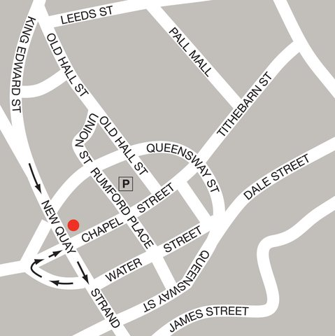 Thistle Liverpool City Centre - Atlantic Tower - Liverpool Map NEWBRN