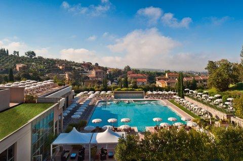 Grotta Giusti Resort Golf Spa - Thermal pool