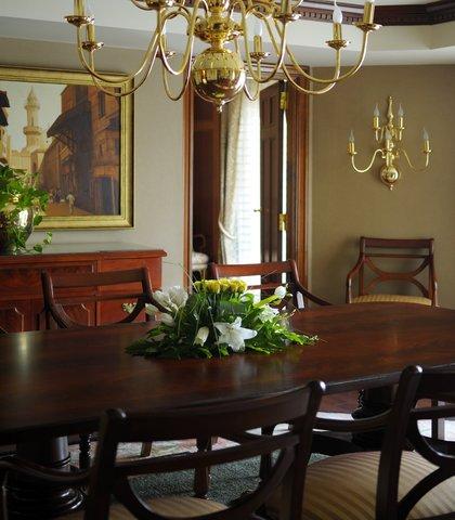 فندق ماريوت القاهرة و كازينو عمر الخيام - Presidential Suite Dining Room