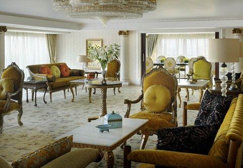 فندق ماريوت القاهرة و كازينو عمر الخيام - Royal Suite Living Room