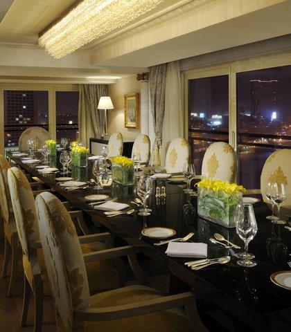 فندق ماريوت القاهرة و كازينو عمر الخيام - Royal Suite Dining Room