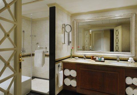 فندق ماريوت القاهرة و كازينو عمر الخيام - Diplomatic Suite Bathroom