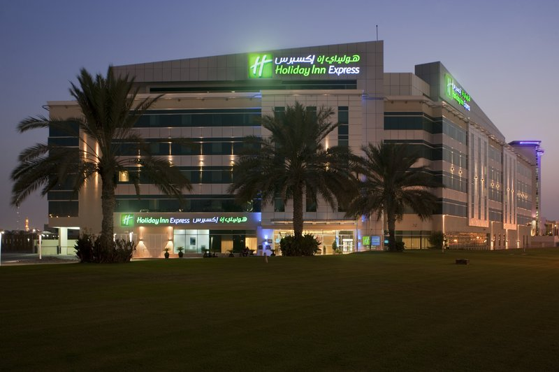 Holiday Inn Express Dubai Airport Fasad
