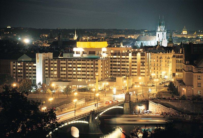 Intercontinental Praha Widok z zewnątrz