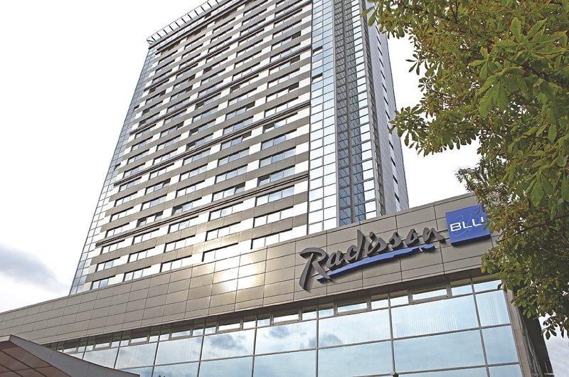 Radisson Blu Hotel Latvija Вид снаружи