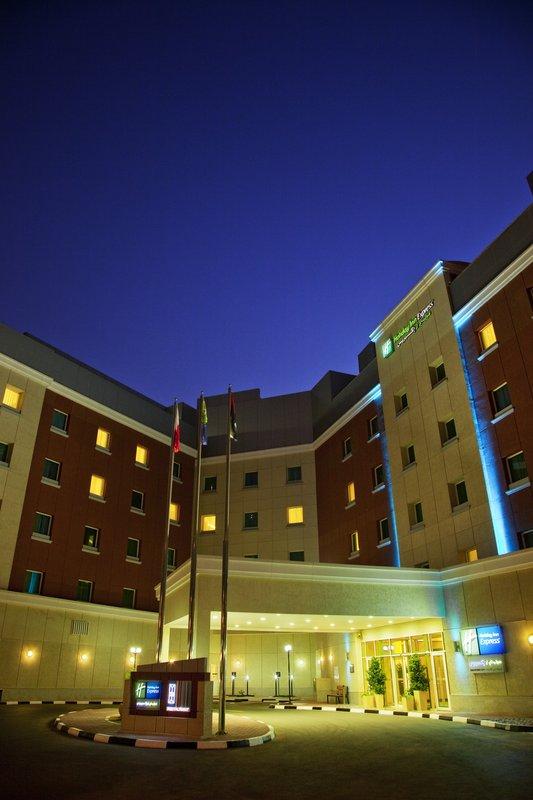 Holiday Inn Express Dubai-Internet City Vista esterna