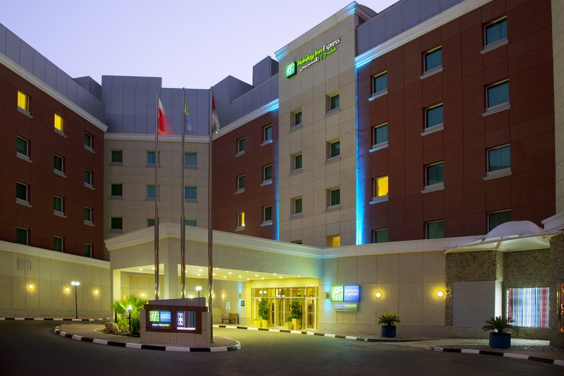 Holiday Inn Express Dubai-Internet City Vista esterna