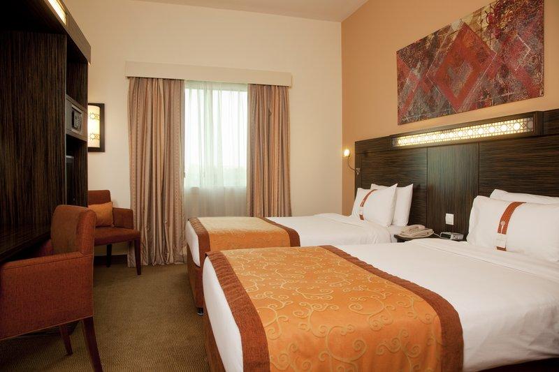 Holiday Inn Express Dubai-Internet City Vista della camera