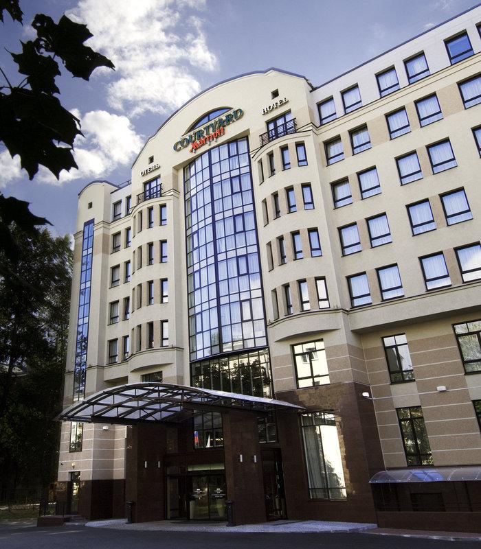 Courtyard St. Petersburg Center West/Pushkin Hotel Kilátás a szabadba