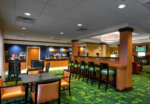 Fairfield Inn & Suites Naples - Breakfast Dining Area